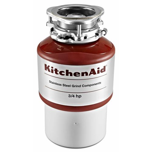 Gallery - 3/4-Horsepower Continuous Feed Food Waste Disposer - Red