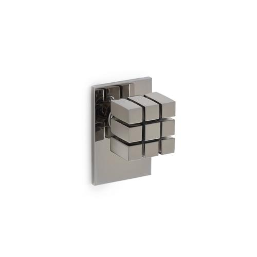 Polished Chrome Novem Door Knob