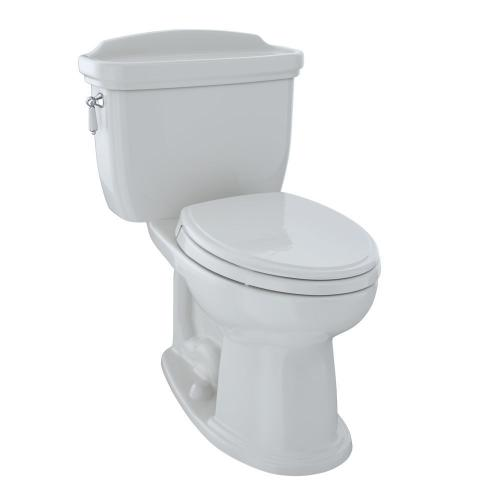 Eco Dartmouth® Two-Piece Toilet, 1.28 GPF, Elongated Bowl - Colonial White