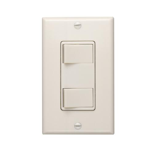 Broan-NuTone® 120V 2-Function Controls, Ivory