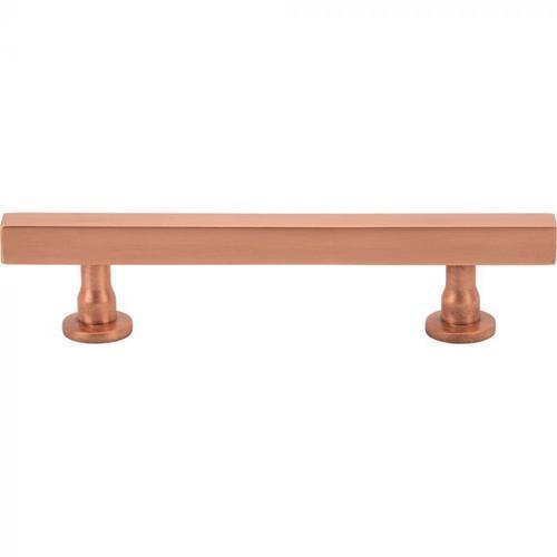 Vesta Fine Hardware - Dante Pull 3 3/4 Inch (c-c) Satin Copper Satin Copper