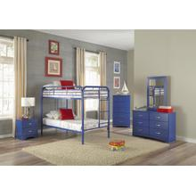 Royal Blue Twin/Twin Bunkbed