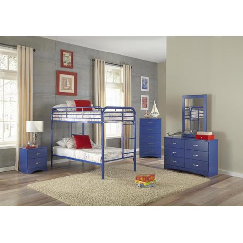 Product Image - Royal Blue Twin/Twin Bunkbed