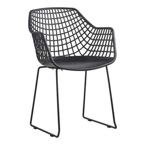 Moe's Home Collection - Honolulu Chair Black-m2