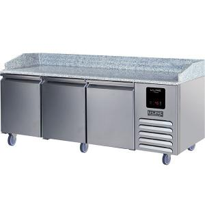 U-Line3 Door Pizza Prep-table Refrigerator With Stainless Solid Finish (115v/60 Hz Volts /60 Hz Hz)
