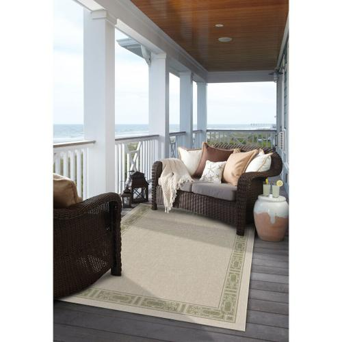 """Gallery - Finesse-Motif Sage - Rectangle - 3'11"""" x 5'6"""""""