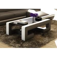 Divani Casa EV45 Modern Bonded Leather Coffee Table