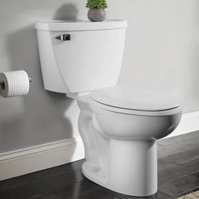 Cadet Right Height Elongated Pressure Assisted Toilet  American Standard - White