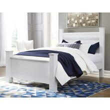 Jallory - White 3 Piece Bed (Queen)