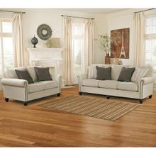 See Details - Signature Design by Ashley Milari Living Room Set in Linen