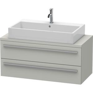Vanity Unit For Console Compact, Concrete Gray Matte (decor)