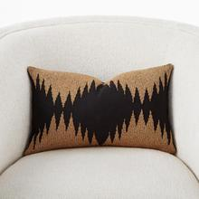 See Details - Tristan Pillow-Gold Seed Beads/Black