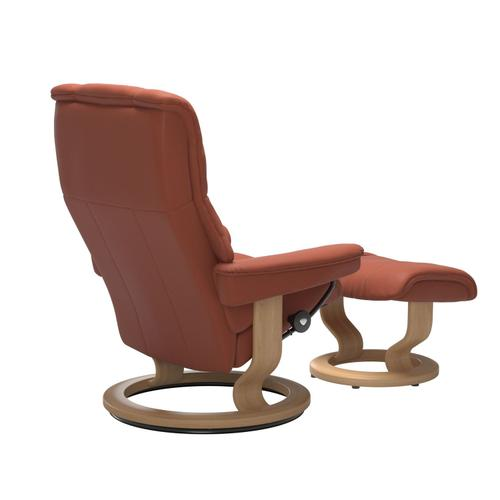 Stressless By Ekornes - Stressless® Mayfair (M) Classic chair with footstool
