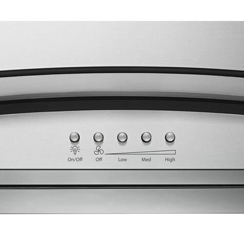 "36"" Modern Glass Wall Mount Range Hood"