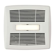 Flex Series Single-Speed Bathroom Exhaust Fan with LED Light 80 CFM 1.5 Sones, ENERGY STAR Certified