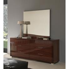 View Product - SMA Sogno Modern Glossy Dresser