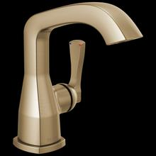 Champagne Bronze Single Handle Faucet Less Handle