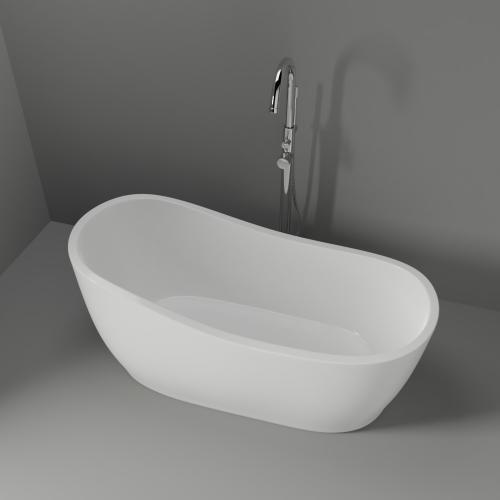"""Lyndell 67"""" Acrylic Slipper Tub"""