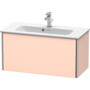 Vanity Unit Wall-mounted Compact, Apricot Pearl Satin Matte (lacquer)