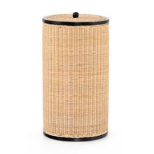 Leanna Laundry Basket-midnight Mahogany