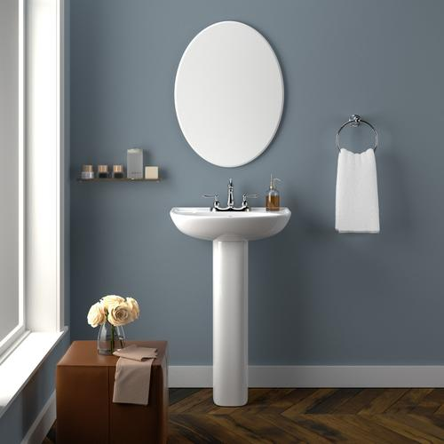 Cynthia 520 Pedestal Lavatory - Single-Hole