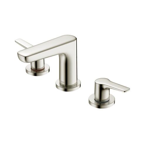 GS Widespread Faucet - 1.2 GPM - Brushed Nickel