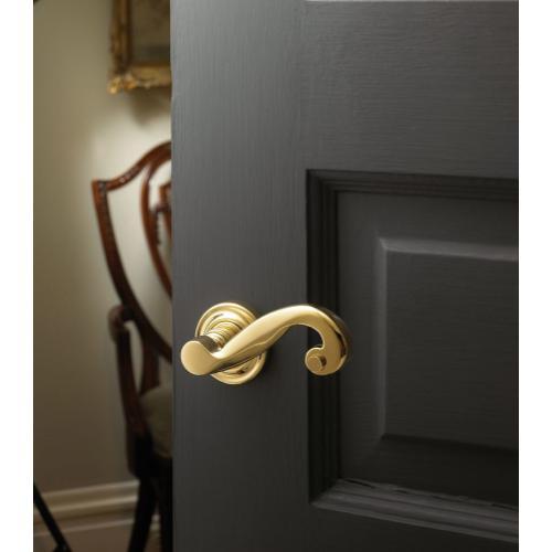 Lifetime Polished Brass 5109 Estate Lever