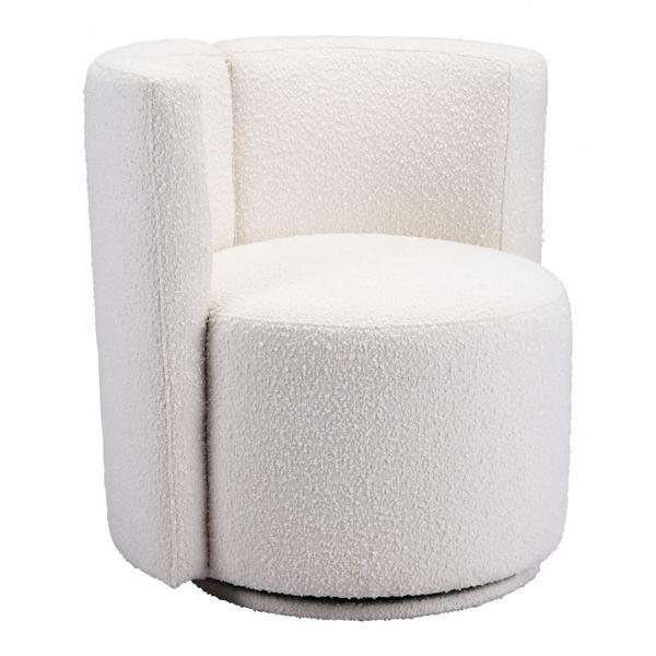 Prague Accent Chair White