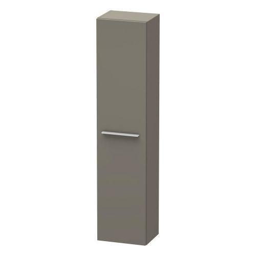 Duravit - Semi-tall Cabinet, Flannel Gray Satin Matte (lacquer)