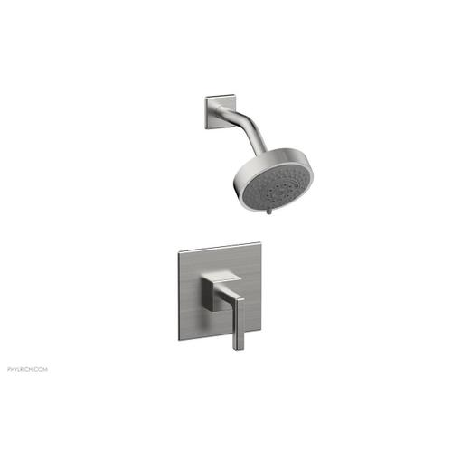 MIX Pressure Balance Shower Set - Lever Handle 290-22 - Satin Chrome