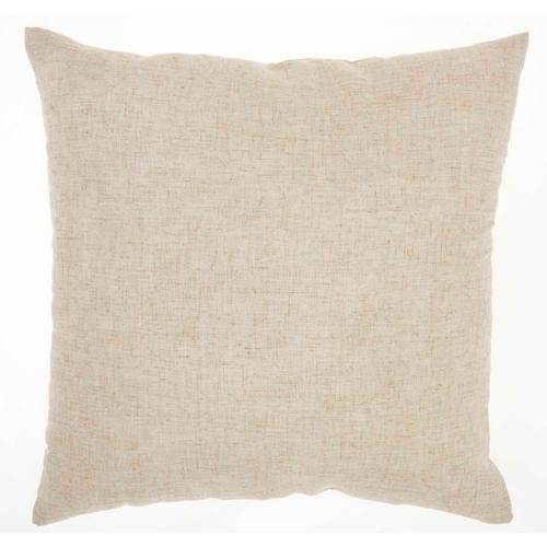 "Kathy Ireland Pillow L1810 Natural 18"" X 18"" Throw Pillow"