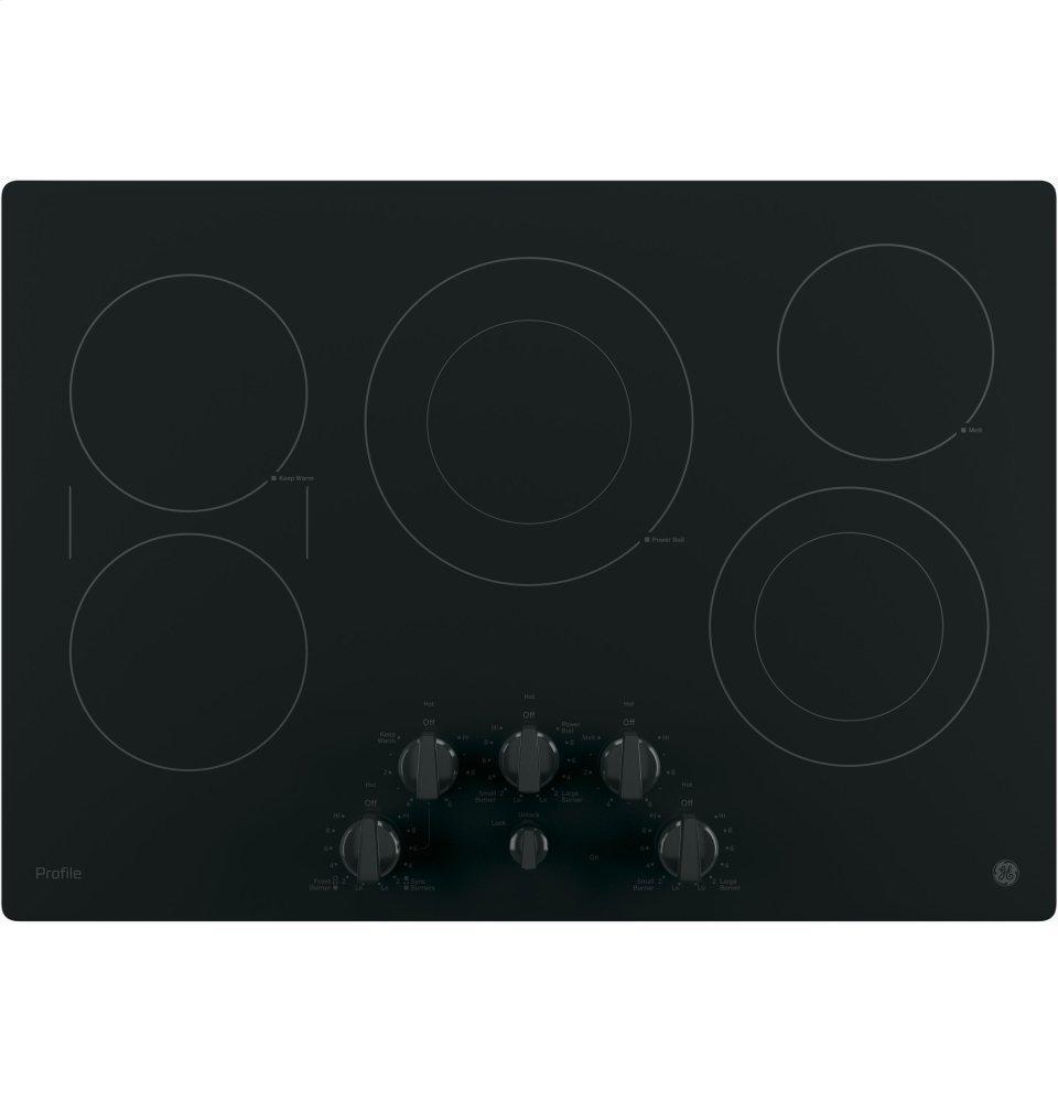 "GE ProfileGe Profile™ 30"" Built-In Knob Control Electric Cooktop"