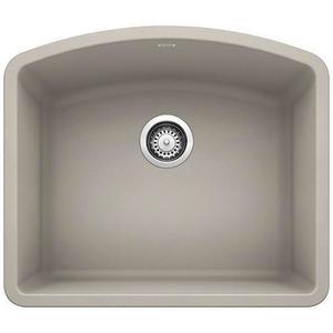 Diamond Single Bowl - Concrete Gray
