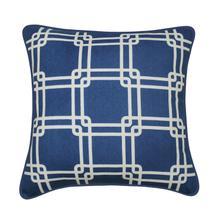 Payson Decorative 100% Cotton Throw Cushion - Taupe