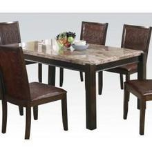 View Product - Dwayne Grey Marble Dining Tble