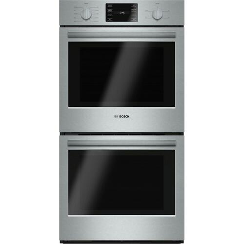 """Bosch - 500 Series, 27"""", Double Wall Oven, SS, EU conv./Thermal, Knob Control"""