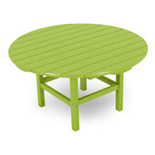 "Lime Round 38"" Conversation Table"