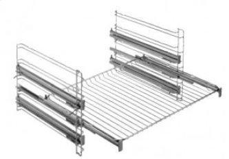 Full extension telescopic rails