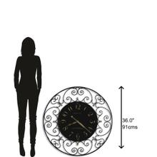 View Product - Howard Miller Joline Oversized Wall Clock 625367
