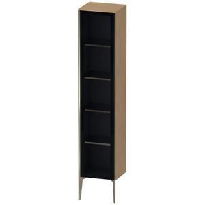 Tall Cabinet Floorstanding With Glass Door, European Oak (decor)