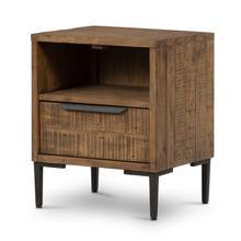 Product Image - Rustic Sandalwood Finish Wyeth Nightstand