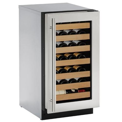 "18"" Wine Refrigerator With Stainless Frame Finish (115 V/60 Hz Volts /60 Hz Hz)"