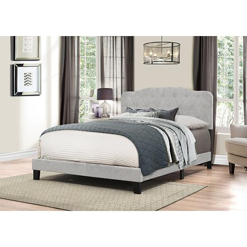 Gallery - Nicole Bed In One - King - Glacier Gray
