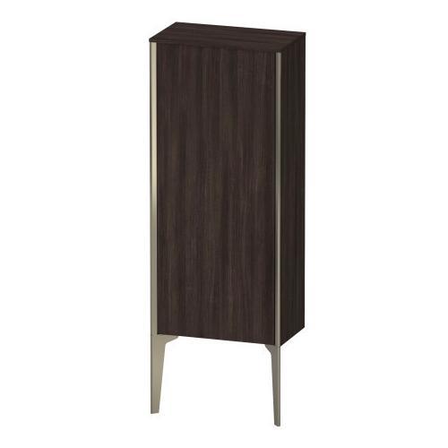 Semi-tall Cabinet Floorstanding, Chestnut Dark (decor)