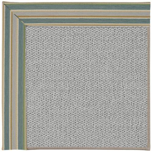 "Inspire-Silver Notation Aquamarine - Rectangle - 18"" x 18"""