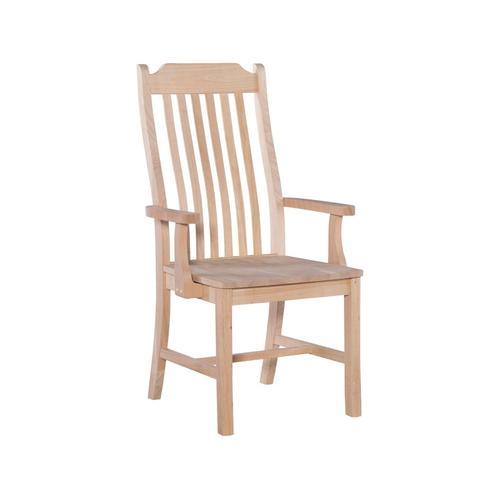 John Thomas Furniture - Tall Mission Arm