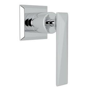 Vincent Trim for Volume Control and 4-Port Dedicated Diverter - Polished Chrome with Metal Lever Handle