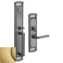 View Product - Satin Brass and Brown Richland Entrance Trim