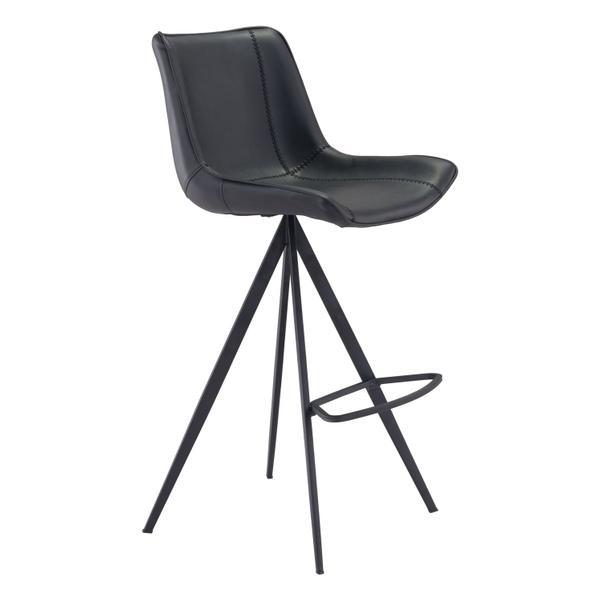 See Details - Aki Bar Chair Black