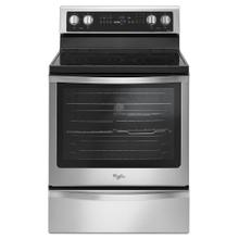 View Product - 6.4 Cu. Ft. Freestanding Electric Range with True Convection